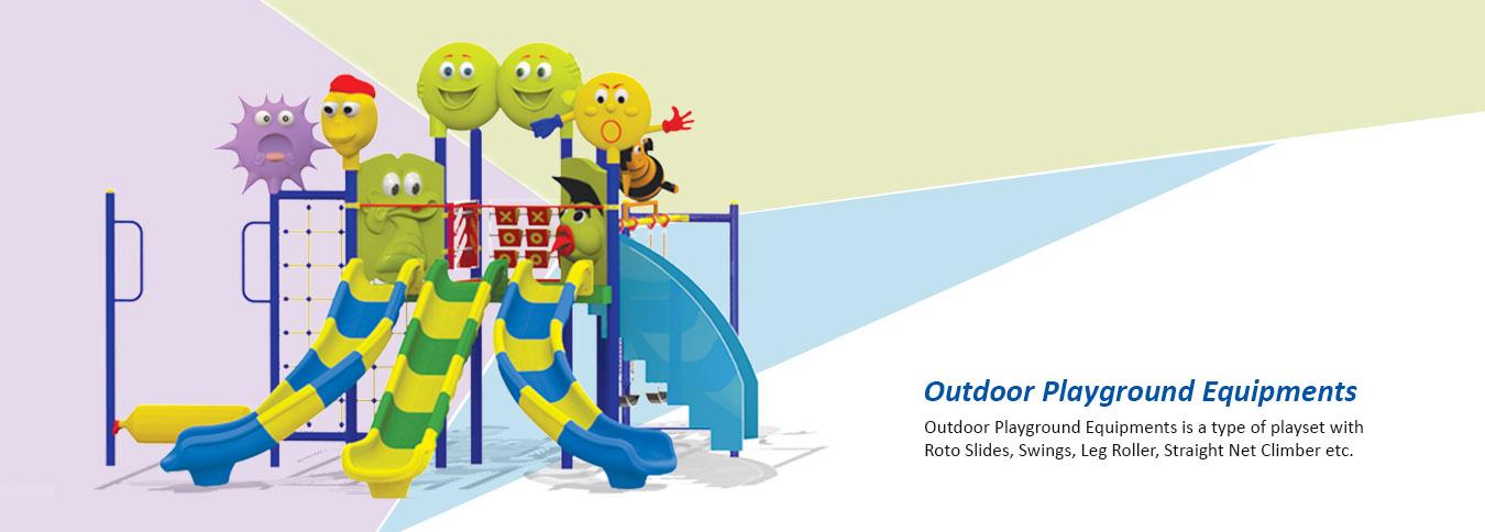 outdoor playground equipment supplier in india | playground